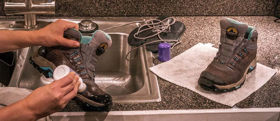 chống thấm nước cho giày leo núi nam nữ