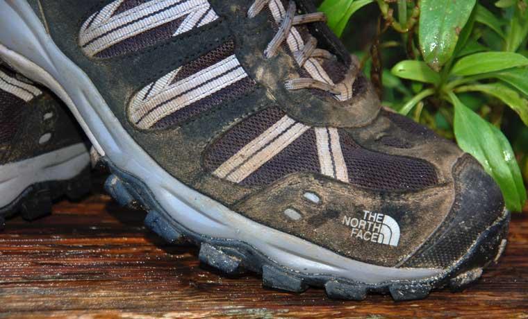 giày leo núi chống nước the north face