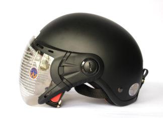 mũ bảo hiểm nửa đầu a33k có kính