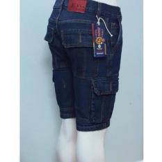quần short jean túi hộp