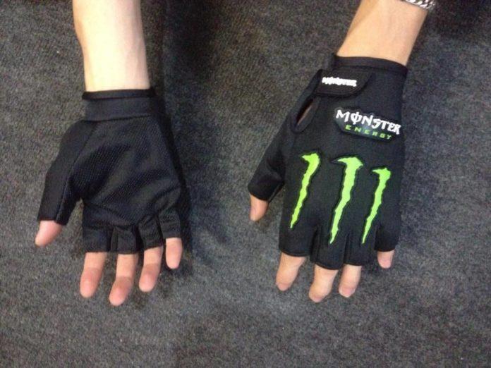 găng tay cụt ngón Monster