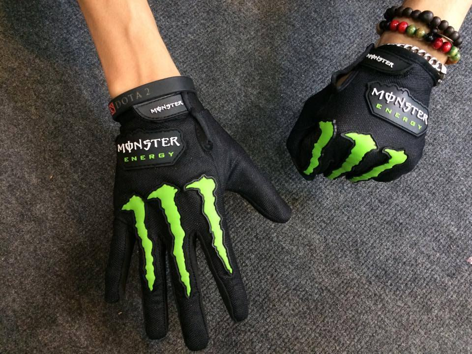 găng tay full ngón monster