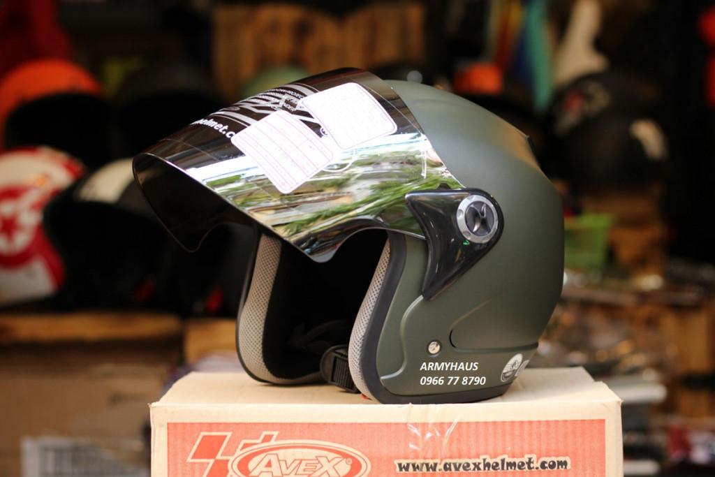 kính mũ bảo hiểm avex scorpion