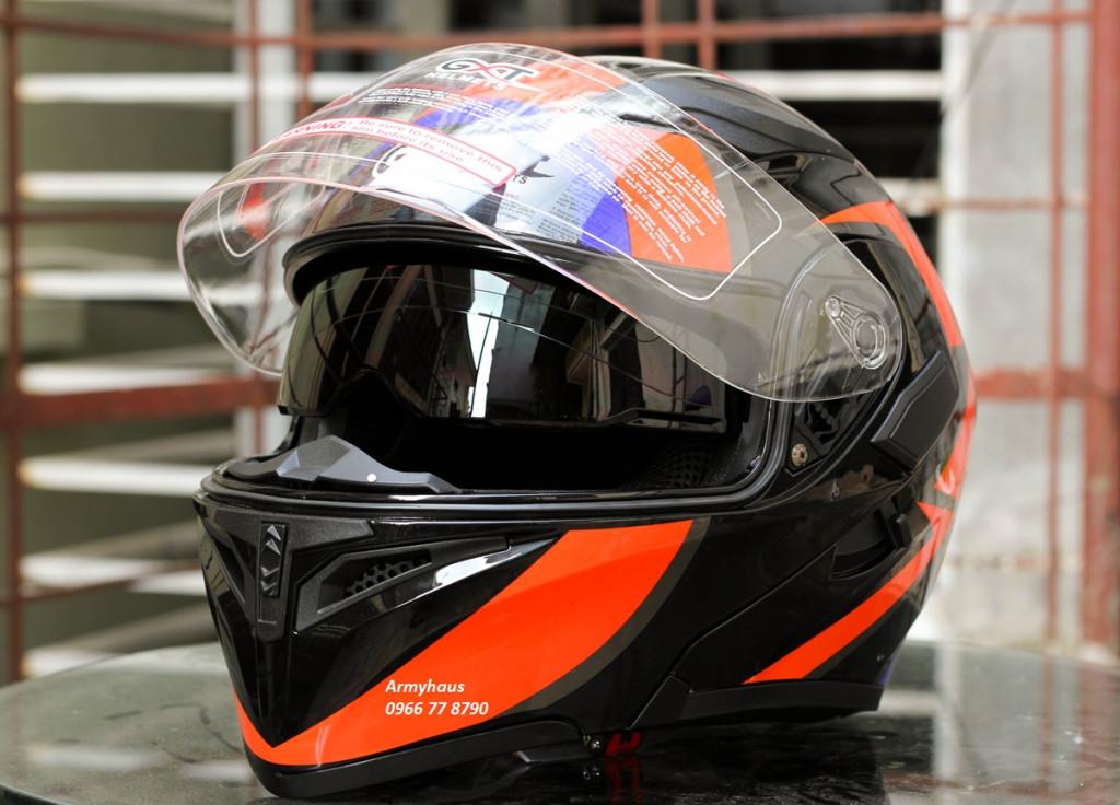 Mũ bảo hiểm hai kính GXT