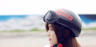 Mũ bảo hiểm 1/2 deadpool có kính phi công