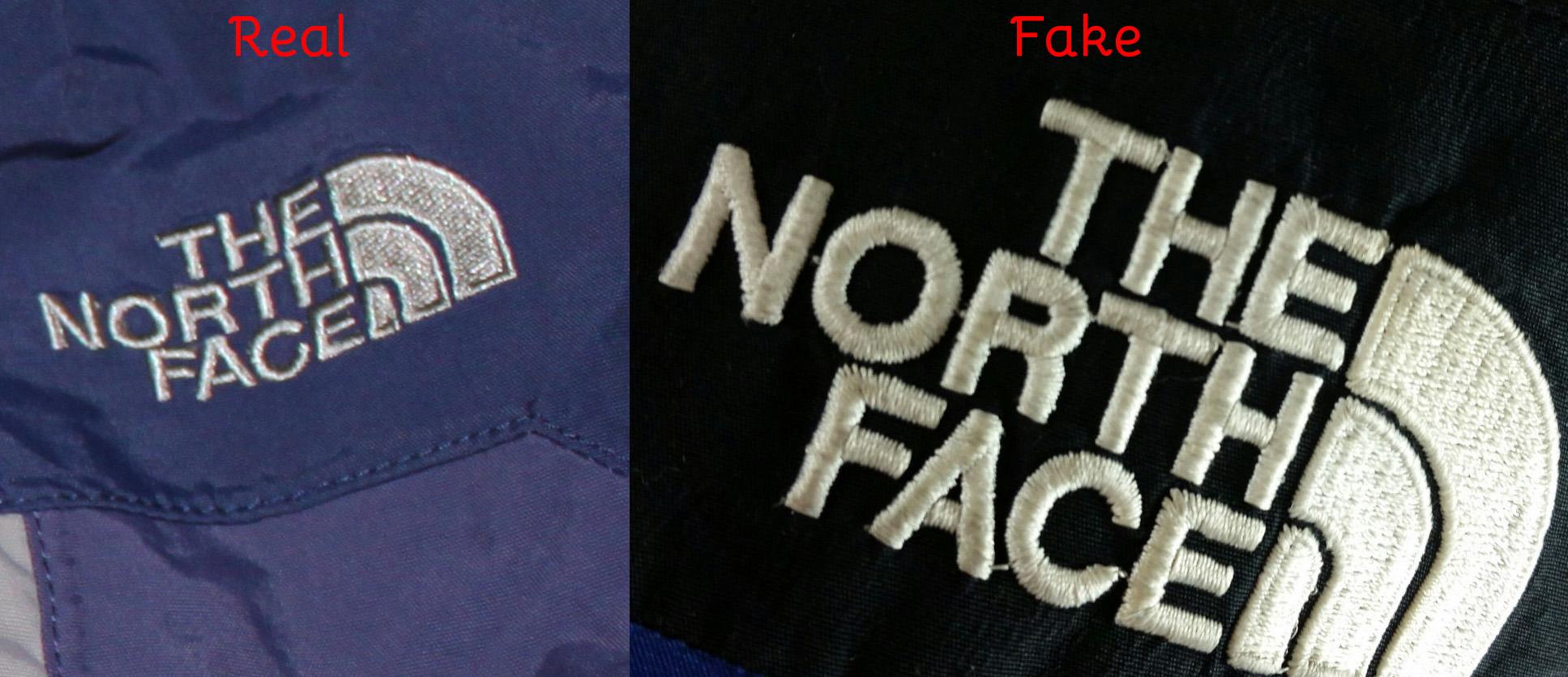 Phân biệt áo The North Face hàng nhái và chính hãng