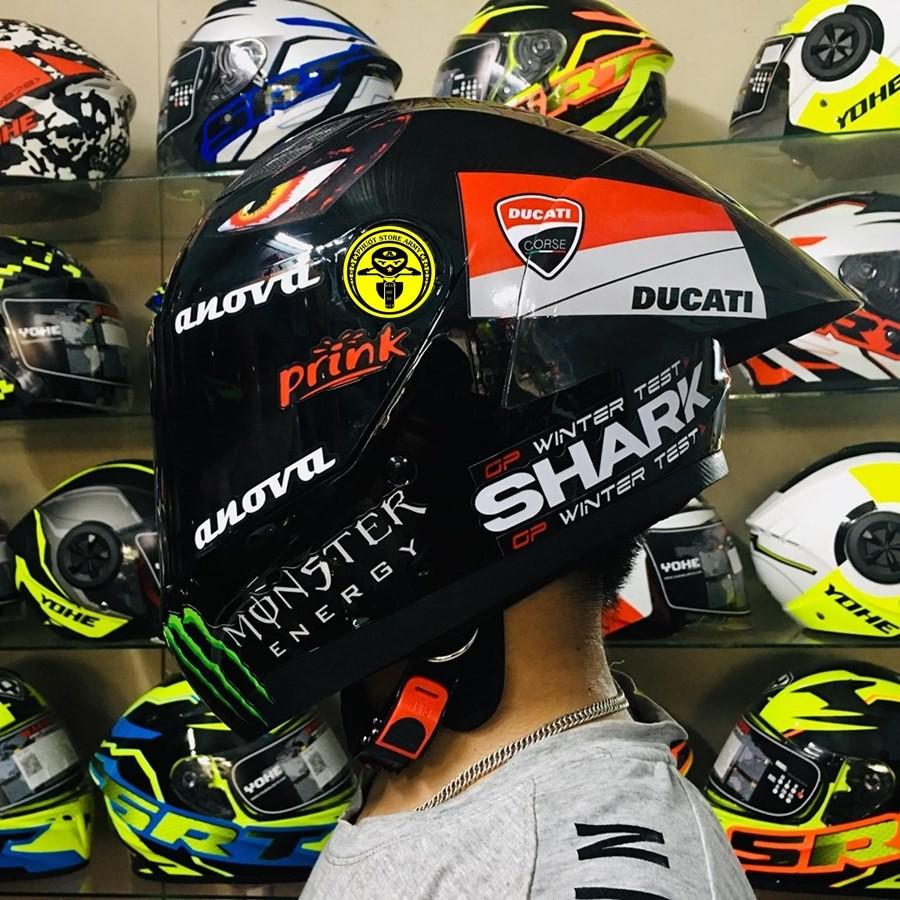 Công dụng của việc đội mũ bảo hiểm fullface