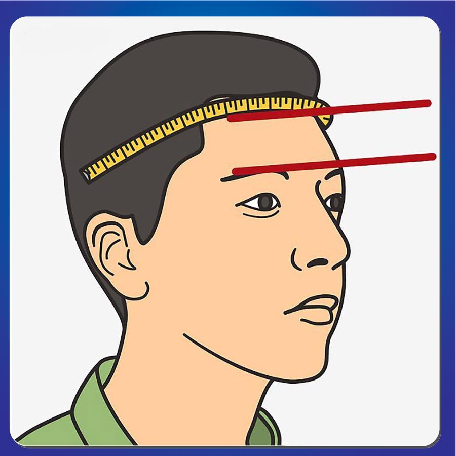 Bí quyết chọn size mũ bảo hiểm cả đầu