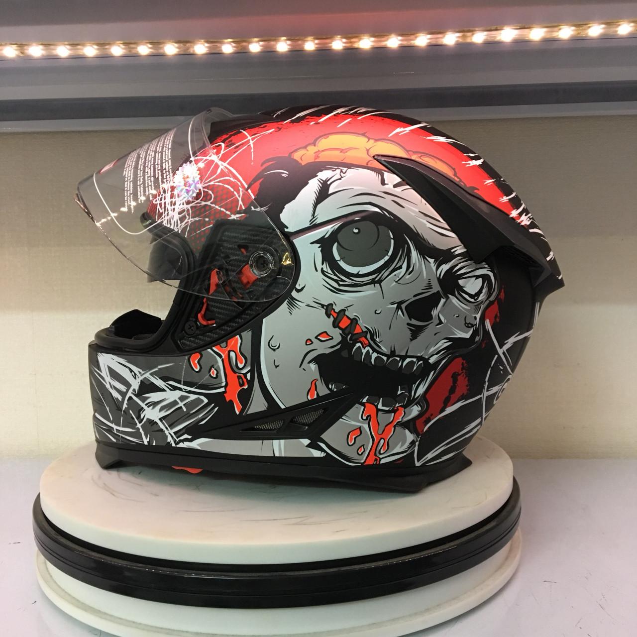 Mũ bảo hiểm cả đầu GXT 358
