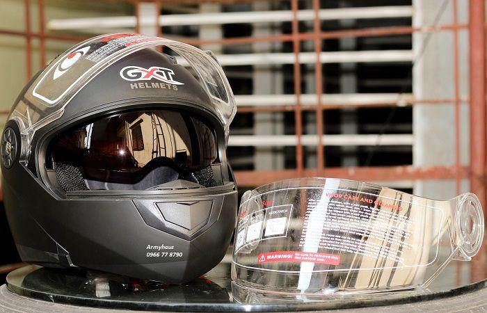 Kính nón bảo hiểm fullface GXT 2016