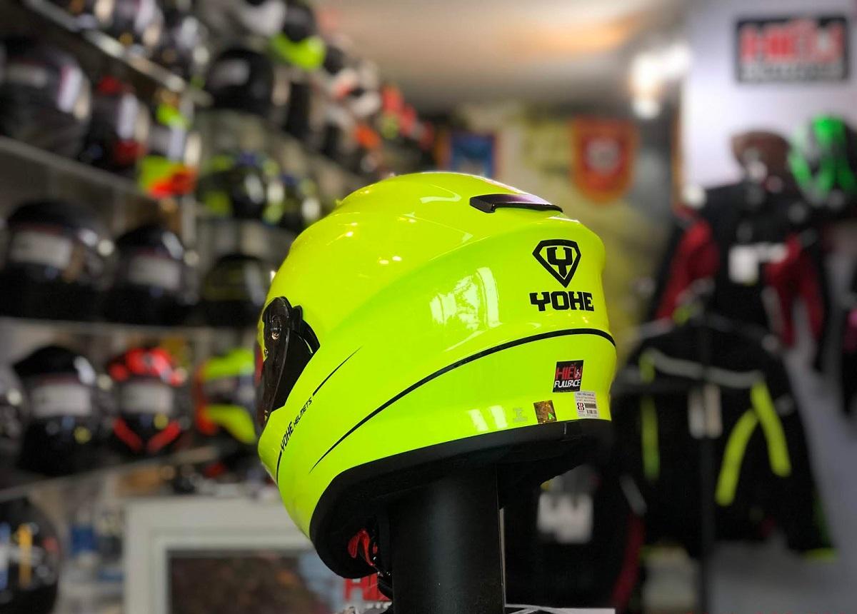 Đánh giá chung về mũ bảo hiểm cả đầu YOHE